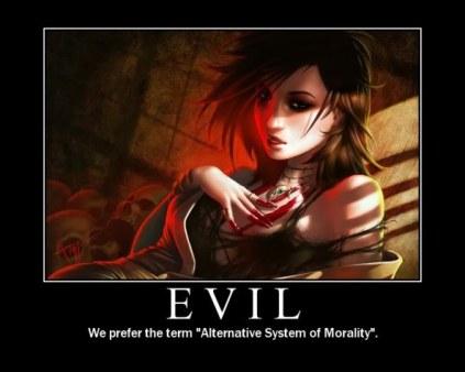 evil character