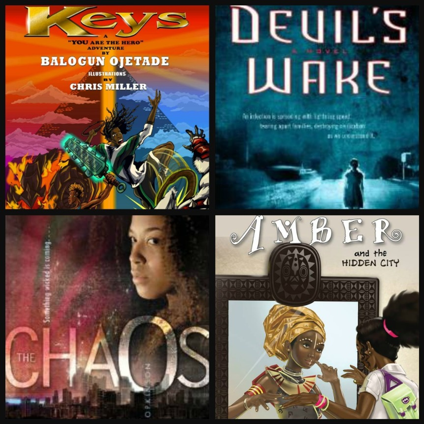 8 YA Science Fiction & Fantasy Books with Black / Afrikan Teen Heroes andSheroes!