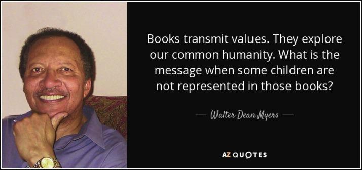 Books transmit values