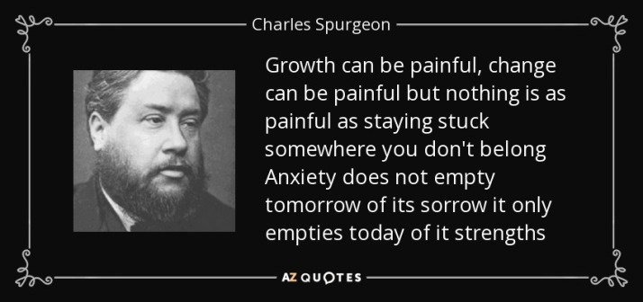 Charles Spurgeon Quote about Pain
