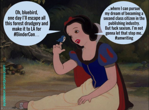 Snow white binders
