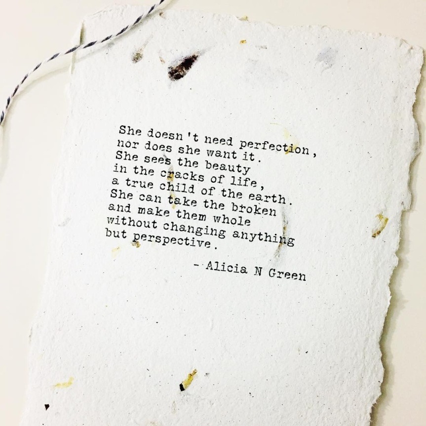 Perspective- Alicia N. Green