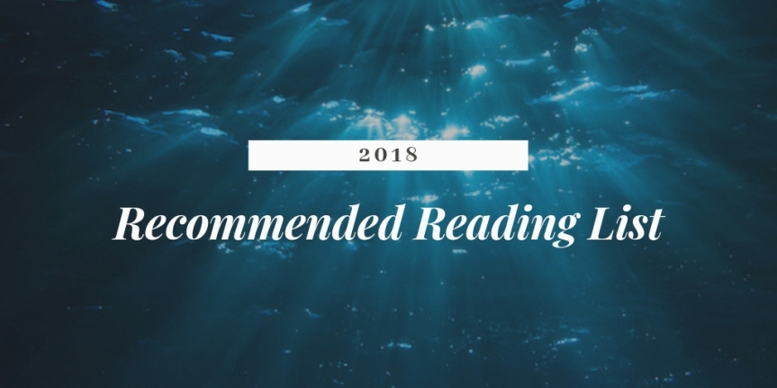 My 2018 recommended reading list