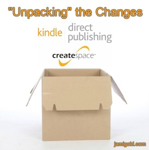 CreateSpace to KDP: The Aftermath – by JamiGold…