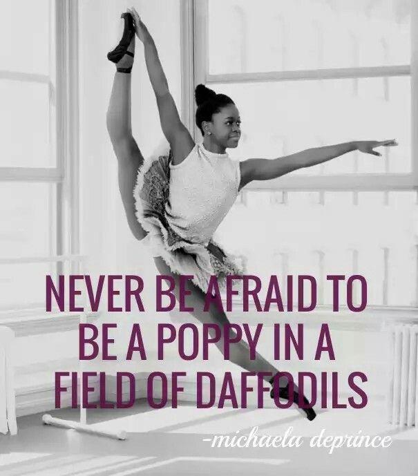 Women's History Month_Michaela DePrince Ballerina