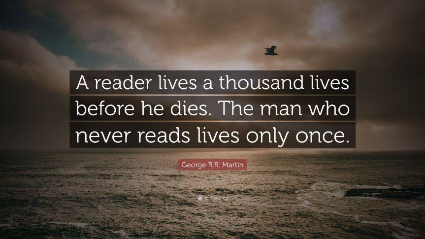 A Reader lives_Martin