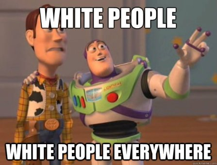 White people everywhere