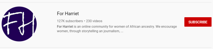 YouTube_For Harriet
