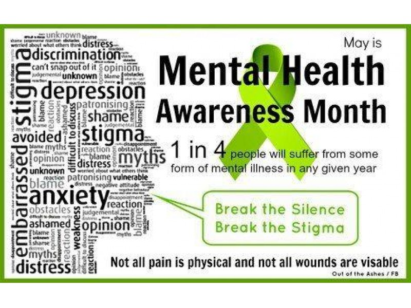 May is Mental Health AwarenessMonth