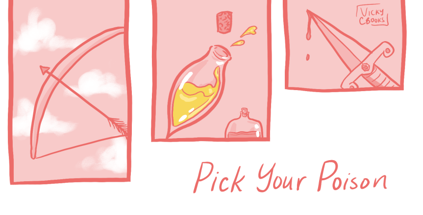Pick Your Poison: Bloody, Brutal, and TragicYA